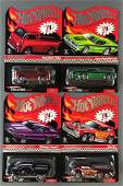 Group of 4 Hot Wheels RedLine Club Limited Edition