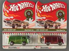 Group of 2 Hot Wheels Presented by Larry Wood 2002