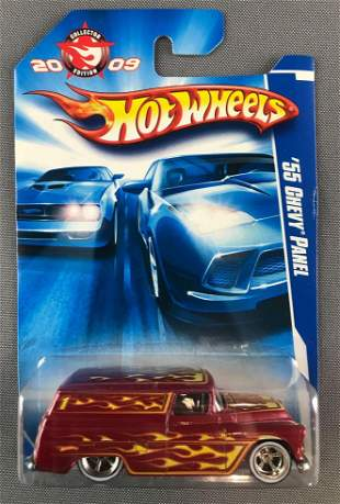 Hot Wheels 2009 Collector Edition 55 Chevy Panel