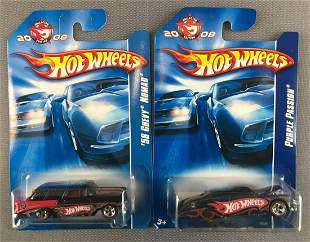 Group of 2 Hot Wheels 2008 Collector Edition die-cast