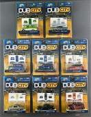 Group of 8 Jada Toys Dub City die-cast vehicles in