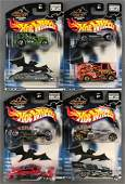 Group of 4 Hot Wheels Limited Edition Halloween Highway