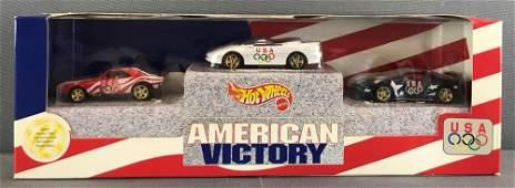 Hot Wheels American Victory 1996 Olympic Games die-cast