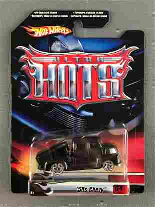 Hot Wheels Ultra Hots 50s Chevy die-cast vehicle