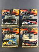 Group of 4 Hot Wheels NASCAR Luxury Rides diecast