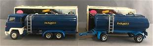 Group of 2 Nacoral Scania LBS 140 die-cast vehicles