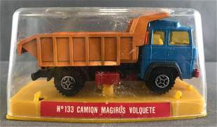 Guisfal Spain No. 133 Camion Magirus Volquette die-cast