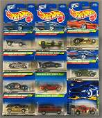 Group of 11 Hot Wheels Treasure Hunt die-cast vehicles