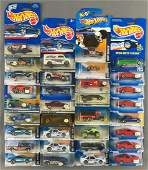 Group of 33 Hot Wheels assorted die-cast vehicles