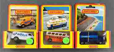Group of 3 Matchbox Foreign Market assorted die-cast
