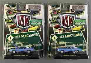 Group of 2 M2 Machines 69 Chevrolet Cameo 250 die-cast