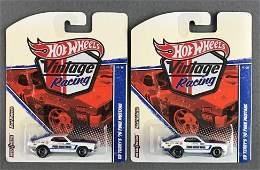 Group of 2 Hot Wheels Vintage Racing Ed Terry die-cast