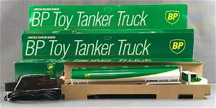 Group of 3 BP Tanker Truck Remote Control toy