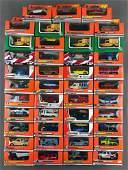 Group of 43 Matchbox die-cast cars in original
