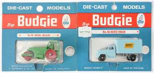 Group of 2 Budgie Toys Die-Cast Vehicles with Original