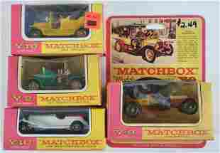 Group of 4 Matchbox Models of Yesteryear Die-Cast