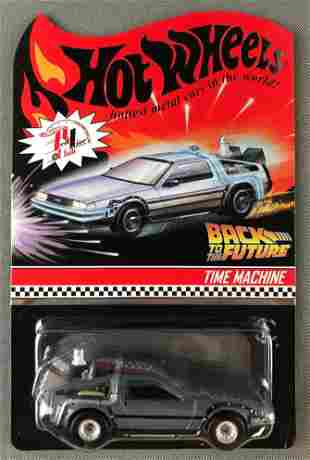 Hot Wheels Red Line Club Back to the Future Time