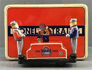 Lionel tin hand car toy in original box