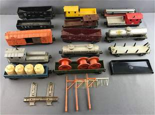 Group of Lionel cars and more