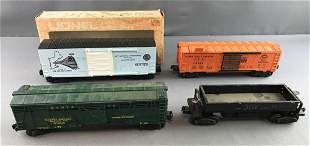 Group of Lionel cars