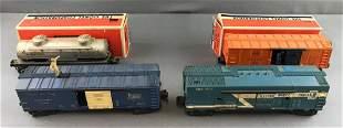 Group of Lionel O gauge cars