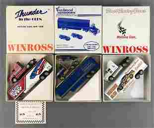 Group of 3 Winross die-cast transporters in original