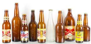 Group of 10 Vintage Star Union Brewing Advertising Beer