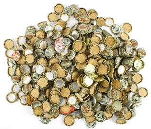 Large Group of Star Union Brewing Beer Bottle Caps
