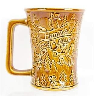 Vintage Hamms Beer Krug Klub Red Wing Beer Mug