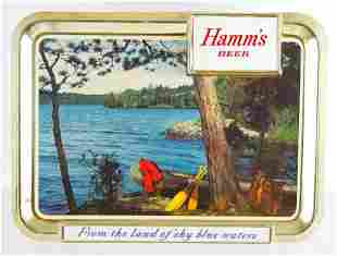 Vintage Hamms Beer Advertising Beer Sign
