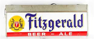 Vintage Fitzgerald Beer Double Sided Light Up