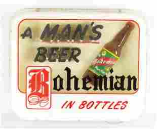Vintage Bohemian Beer Light Up Advertising Beer Sign