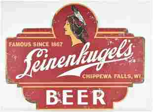 Modern Leinenkugels Advertising Tin Beer Sign