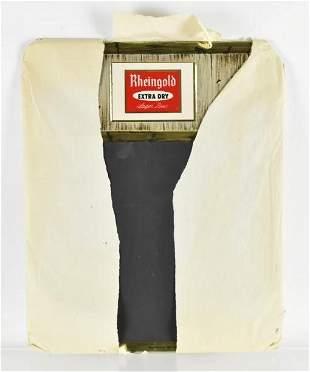 Vintage Rheingold Advertising Tin on Cardboard