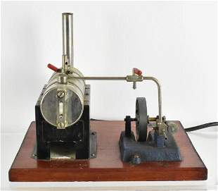 Vintage Jensen Mfg. Co. Toy Steam Engine