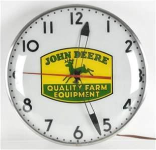 Vintage John Deere Farm Equipment Advertising Sign