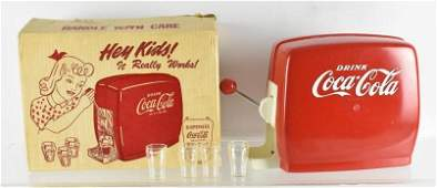 Vintage Coca Cola Toy Soda Dispenser