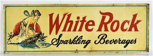 Vintage White Rock Sparkling Beverages Advertising