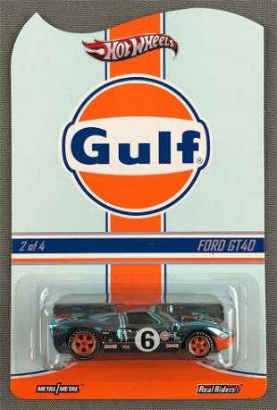 Hot Wheels Real Riders Gulf Ford GT40
