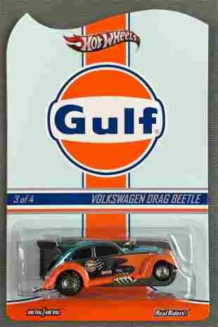 Hot Wheels Real Riders Gulf Volkswagen Drag Beetle