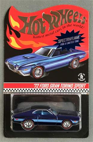 Hot Wheels Specrtaflame 72 Ford Grand Torino Sport