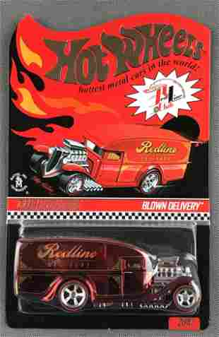 Hot Wheels Red Line Club Blown Delivery