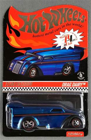 Hot Wheels Red Line Club Exclusive Drag Dairy