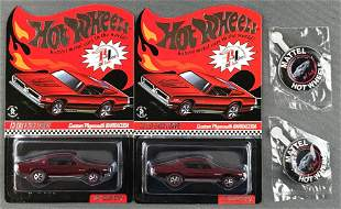 Group of 2 Red Line Club Exclusive Custom Plymouth