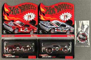 Group of 2 Hot Wheels Red Line Club Exclusive Boss Hoss