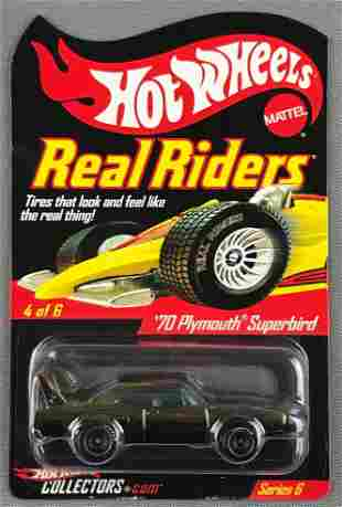 Hot Wheels Real Riders Series 6 70 Plymouth Superbird