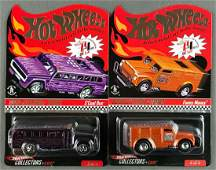 Group of 2 Hot Wheels Red Line Club 2009 sELECTIONs