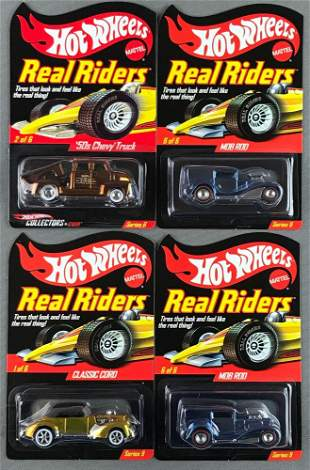 Group of 4 Real Riders Series 6 and 9