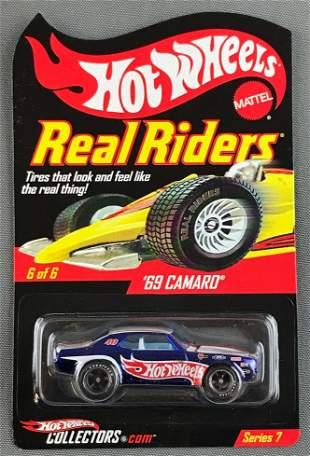 Hot Wheels Real Riders Series 7 69 Camaro