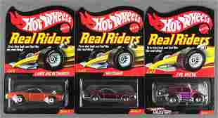 Group of 2 Hot Wheels Real Riders Series 7 and 9